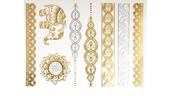 Reloj de estilo - de tatuaje tatuajes de soporte de metal: Amazon ...
