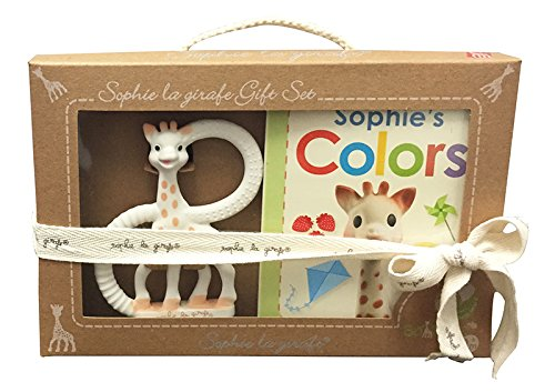Sophie the Giraffe So'Pure Teether and Book Set by Vulli