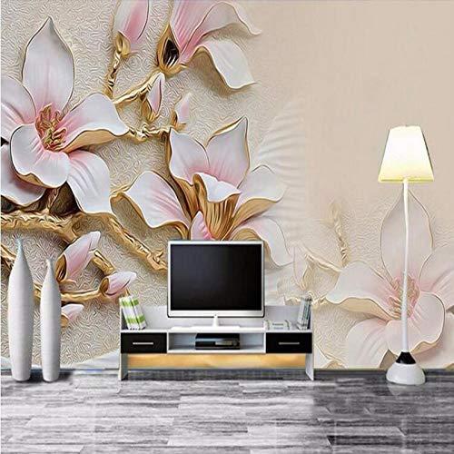 Amazon.com : 3D Wallpaper HD in Rilievo Fiori di Magnolia ...