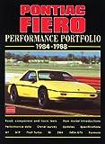 Pontiac Fiero Performance Portfolio 1984-88, R.M. Clarke, 1855205327