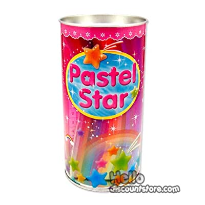 Pastel Star Origami Star Papers with Coin Bank