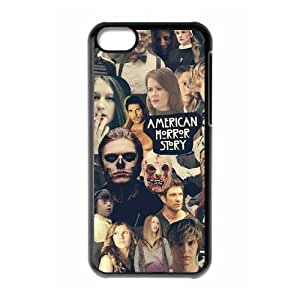 BESTER DIY Cover Case with Hard Shell Protection for Iphone 5C case with American Horror Story lxa#914673