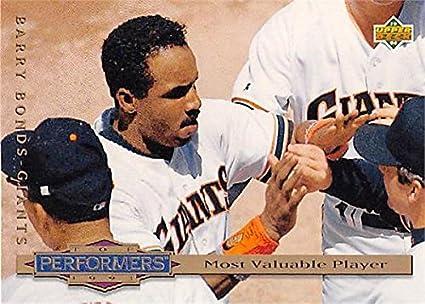 Barry Bonds Baseball Card San Francisco Giants All Star