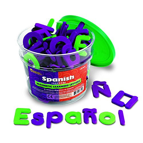 Resources Learning Foam Magnetic (LEARNING RESOURCES SPANISH MAGNETIC FOAM LEARNING (Set of 3))