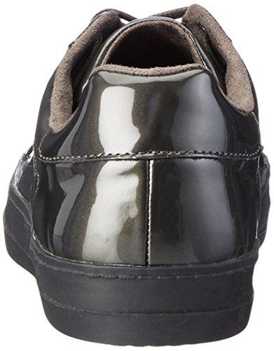 Tamaris Women''s top graphite 263 Grey Low Pat 23606 Sneakers vvwaqSrP