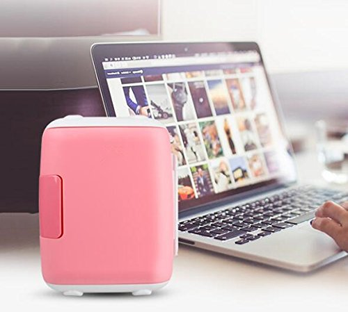 AGECC Mini Nevera USB Mini Coche Dormitorio Doble Uso Home Home ...