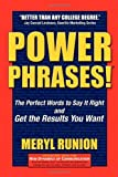 Power Phrases, Meryl Runion, 1600378633