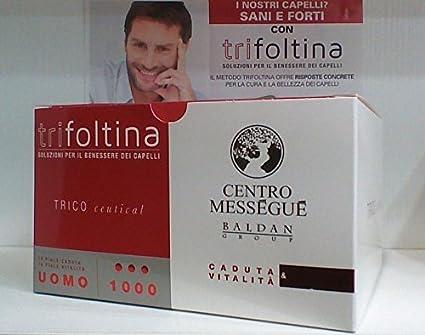 trifoltina 1000 Hombre 10 + 10 ampollas caída Cabello y vitalità oferta