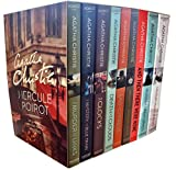 Agatha Christie Collection 9 Book Set (Hercule Poirot Classic Mysteries, THE WORLD'S FAVOURITE)