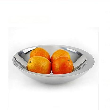 SQL Creativo de acero inoxidable placa fruta cesta fruta ...