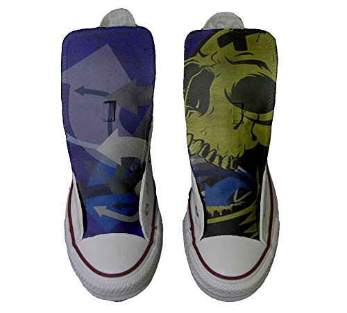 All Schuhe Hi Converse personalisierte Schuhe Customized Handwerk Star Schädel AX77gwxq