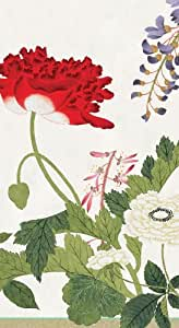 Entertaining with Caspari Set of 2 Profusion of Flowers Guest Towels, Ivory, 30 Towels Total