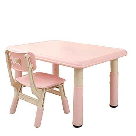 Amazon.com: ZH Kids - Juego de mesa y silla de altura ...