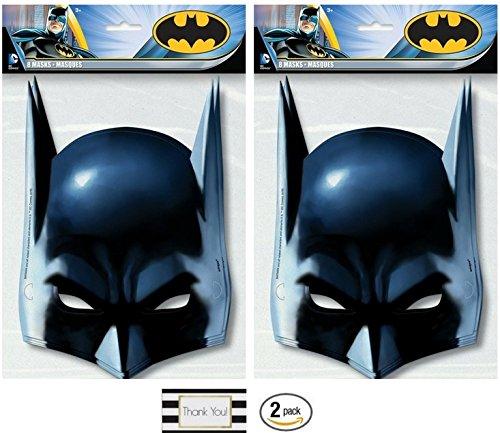 BT Batman Party Masks Pack