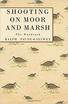 Book Shooting on Moor and Marsh - The Woodcock
