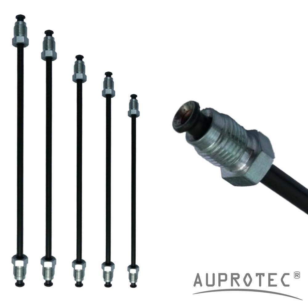 Bremsleitung /Ø 4,75 mm einbaufertig geb/ördelt mit Nippel 160mm L/änge 240 mm B/ördel E E 3050mm Auswahl: