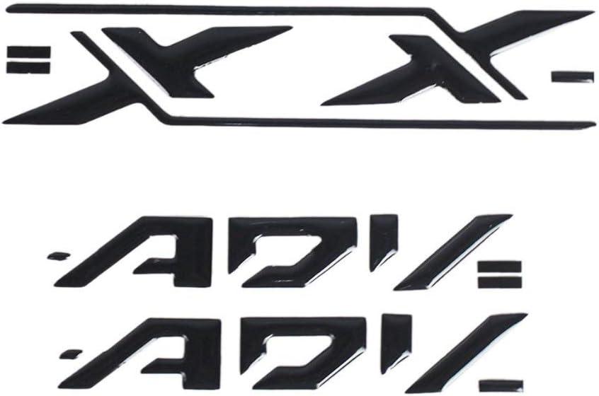 Etiqueta del Panel de Color Etiqueta Motocicleta Lado del Logotipo Reflectante con el Logotipo apli for Honda X-ADV 750 Color : 4 PUXINGPING
