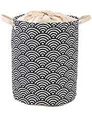 Dustproof Laundry Basket Closure Dirty Laundry Storage Bin Closed Cotton Linen Cube Storage Box