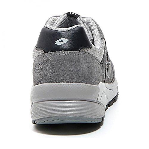 Lotto T3938 R-Lifes - Asphalt/Black - Sneakers Man - Scarpe Sportive Uomo Grigio