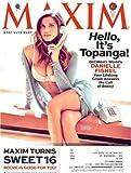 Maxim 2013 April - Danielle Fishel: Cover + 6 Pages