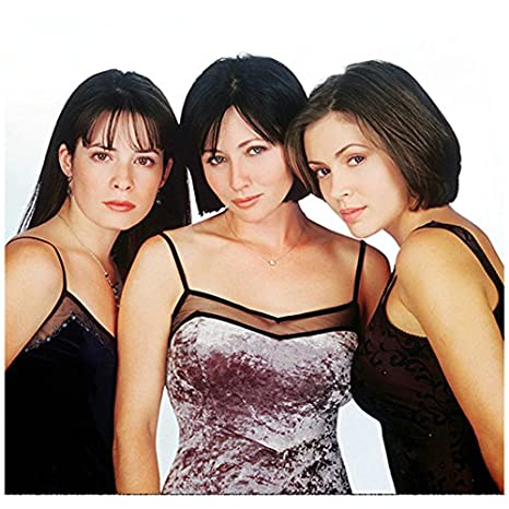 Charmed Alyssa Milano As Phoebe Holly Marie Combs As Piper