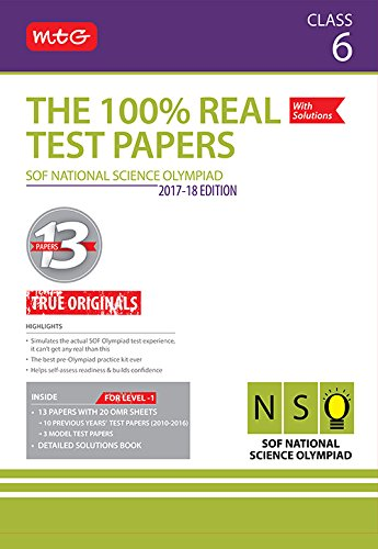 Price comparison product image The 100% Real Test Papers (NSO) Class 6