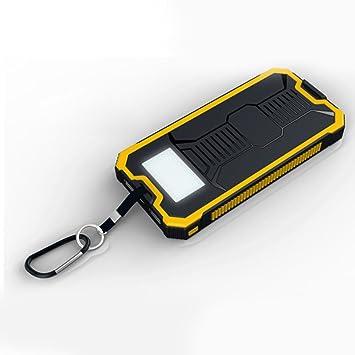 Qind Power Bank - Cargador Solar de 10000 mAh, Cargador ...