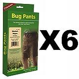Coghlan's Bug Pants Medium Black Unisex Flame Retardant Mosquito Net (6-Pack)