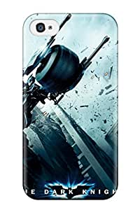 Top Quality Rugged The Dark Knight Poster Case Cover For Iphone 4/4s