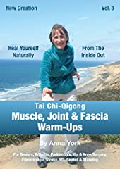 Warm-ups on Anna York's DVD help maintain, heal and strengthen the whole body. Standing and chair demos are accessible for seniors, arthritis, Parkinson's, injury and surgery recovery and for all types of movement disorders. Warm-ups help our...