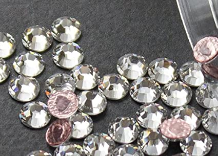 57ea76f42f28 Image Unavailable. Image not available for. Color  Flat back Crystal 2038  Swarovski Rhinestone ...