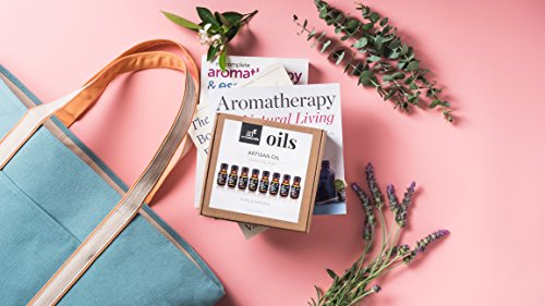 ArtNaturals Aromatherapy Top 6 Essential Oils 100% Pure of The Highest Quality Peppermint, Tee Tree, Rosemary, Lavender, Eucalyptus and Frankincense Therapeutic Grade by ArtNaturals (Image #5)