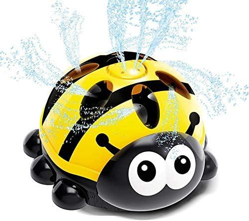 Kinder Wassersprühspielzeug, Marienkäfer Wasser Baby Badespielzeug, Sommerkühlung Cartoon Leichte tragbare Badepuppe Spielzeug für Kinder Badezimmer Hinterhof Spaß Badewanne Geschenk Badespielzeug