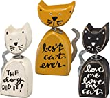 Primitives by Kathy Set of 3 Cats Shelf Sitter, Figurine Review