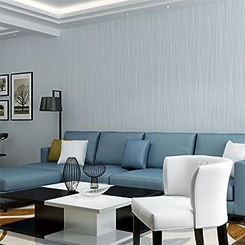 YUELA Das Mondlicht Wald Vliestapeten Farbe Plain Selbstklebende Streifen  Hintergrund Wand Tapeten Schlafzimmer Zurück Mit Leim