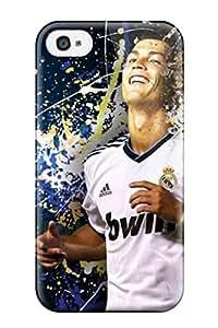 [PntCfny403nOMCl]premium Phone Case For Iphone 4/4s/ Cristiano Ronaldo Tpu Case Cover