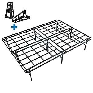 Amazon Com Homus 16 Inch High Profile Platform Bed Frame