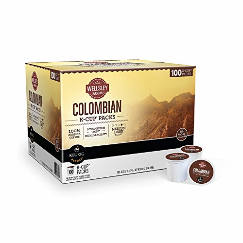 Wellsley Farms Colombian K-Cup Pods, 100 ct. (pack of 2) by Wellsley Farms