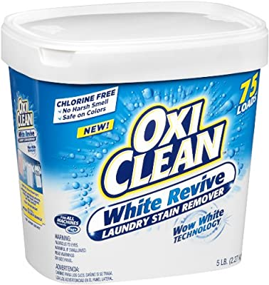 Oxiclean White Revive Powder, 5 Pound