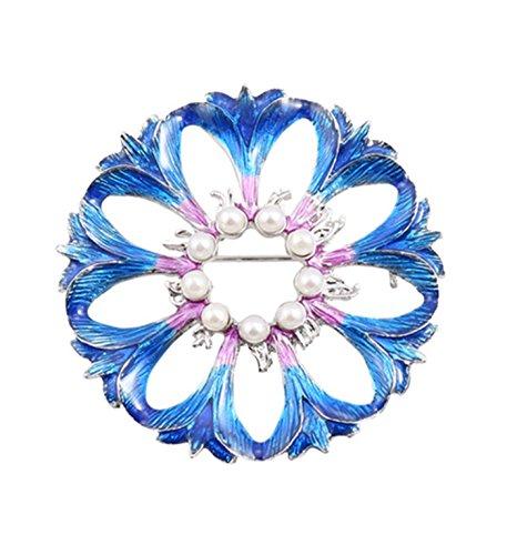 Micrkrowen Creative Pearlescent Gradient Drops Enamel Blue Violet - Violet Gradient