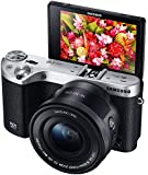 Samsung NX500 28 MP Wireless Smart Mirrorless Digital Camera with 16-50mm Power Zoom Lens (Black)