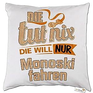 getshirts - RAHMENLOS® Geschenke - Kissen - Die tut nix - Die will nur...