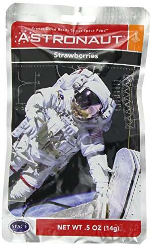 Astronaut Foods Astronaut Food Freezedried Strawberries 10 Packets by Astronaut Foods
