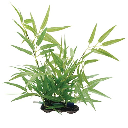 - Fluval Bamboo Shoots Plant for Aquarium, 14-Inch