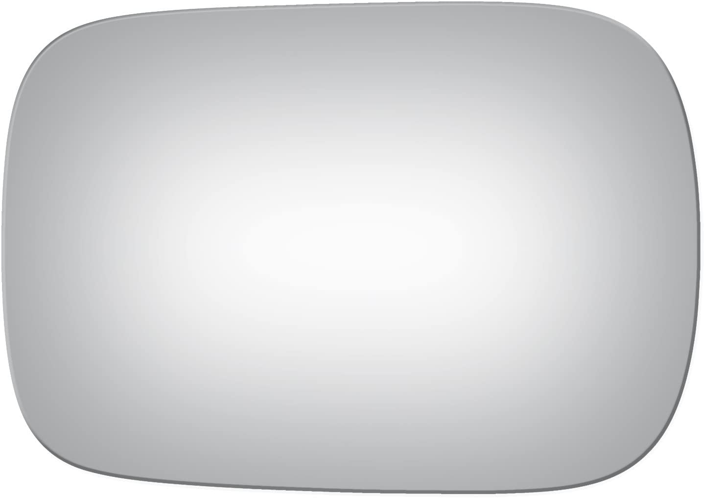 Burco 2950 Flat Driver Side Replacement Mirror Glass for 2001-2003 Volvo V70 2003-2006 Volvo XC90 Mount Not Included 2003-2007 Volvo XC70