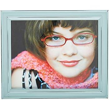 Amazoncom Sheffield Home 8 X 10 Distressed Teal Frame 8 X