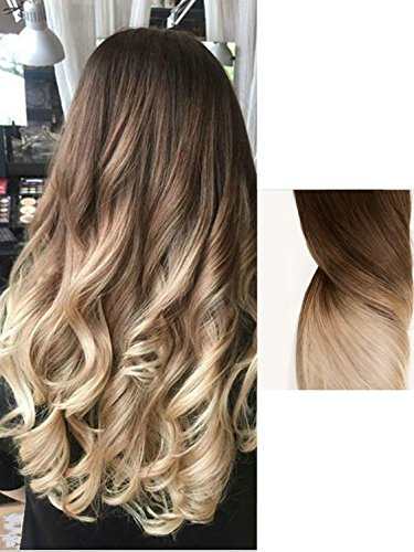 Hair Extensions Ombre Chocolate blonde product image