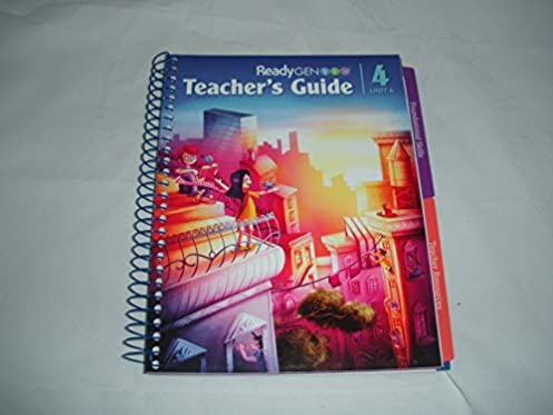 readygen teacher s guide unit 4 grade 4 elfrieda h hiebert p rh amazon com ReadyGEN Reading Program readygen grade 4 teacher's guide unit 3