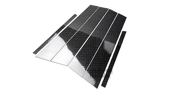 Carbon Fiber B Pillar Covers Stickers for 2012-2017 CADILLAC ATS 2013 2014 2015