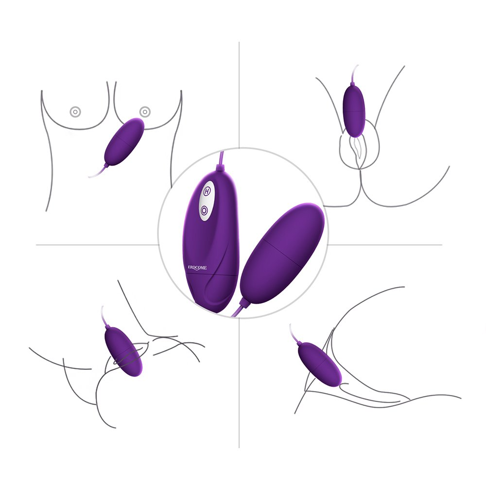 LYSOLO Waterproof 12 -Frequency Silicone Love Egg for Women by VVLT (Image #2)